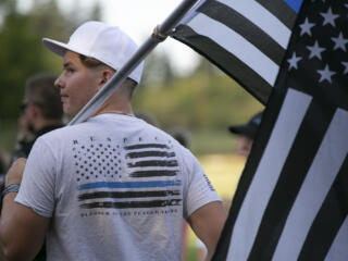 Memorial Mile for Detective Sgt. Jeremy Brown