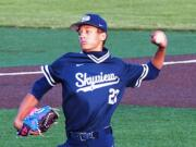Skyview High School pitcher Caden Vire was picked by the Milwaukee Brewers in the 12th round of the Major League Baseball Draft on Tuesday, July 13, 2021.