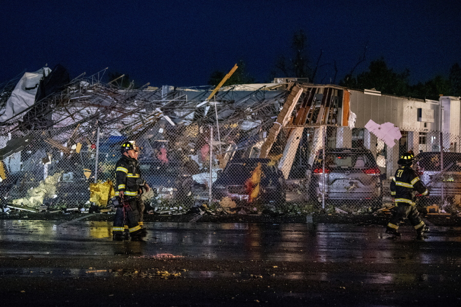 At least 5 injured in storms in Pennsylvania