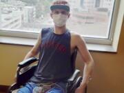 Preston Browning at the Vanderbilt Medical Center in Nashville, Tenn.