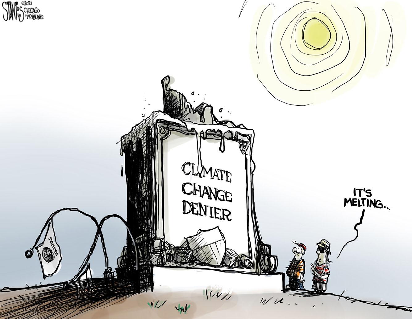 Aug: 21: Climate Change Denier