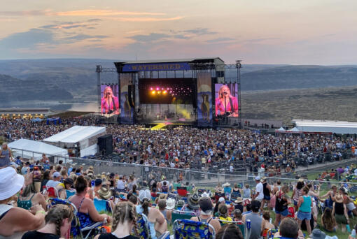 Country star Kelsea Ballerini performs Friday at Watershed festival at the Gorge Amphitheatre in George.