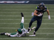 Seattle Seahawks tight end Colby Parkinson will be out of action after suffering a broken foot during training camp.