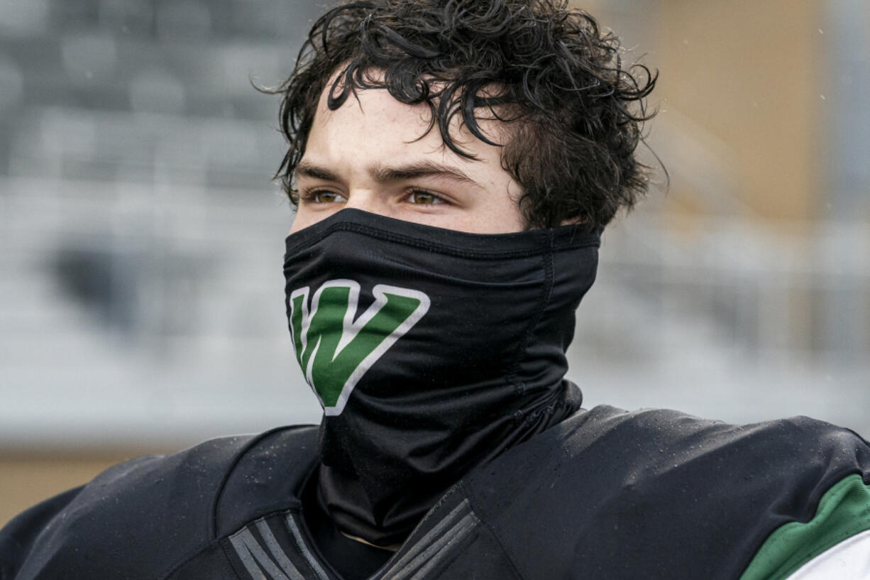 Football players were required to mask up when the delayed 2020 season started in late February. When the 2021 fall season begins with practices on Wednesday, players will not be required to mask up while participating on the field.