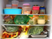 Do a deep clean of the refrigerator, getting rid of old condiments and spoiled food, and then rearrange it.