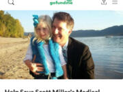 A GoFundMe to help Washougal physician assistant Scott Miller pay for legal fees  has raised nearly $30,000. Miller is the subject of 13 complaints filed with the Washington Medical Commission.