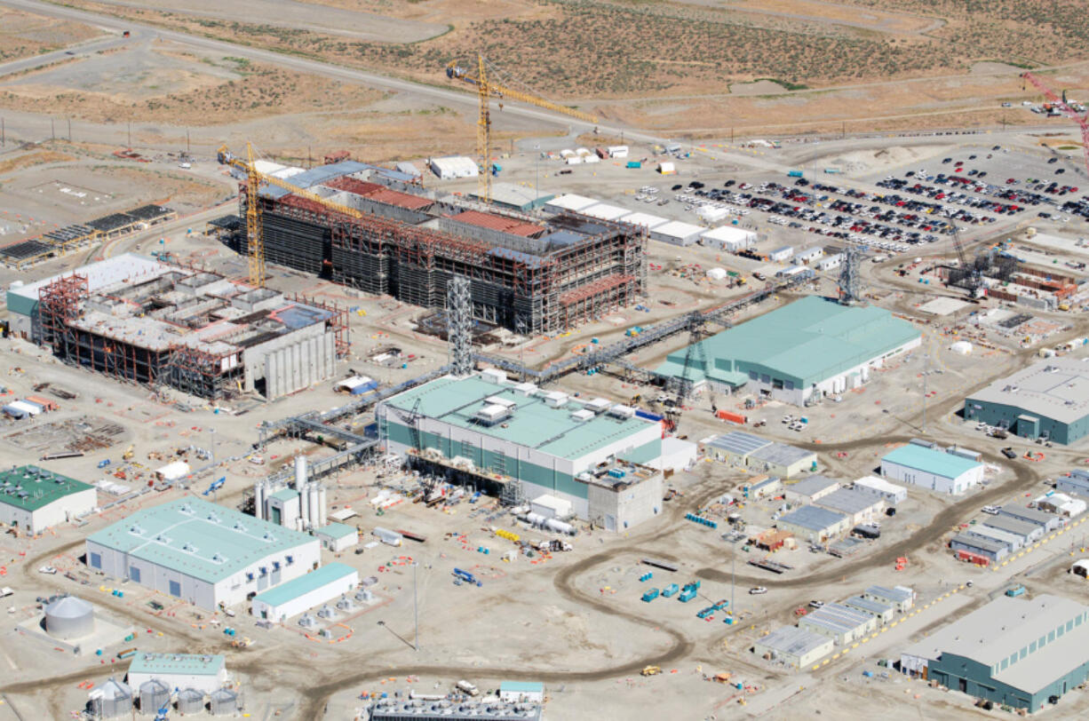 The Hanford Vit Plant covers 65 acres with four nuclear facilities in southeastern Washington state.