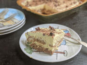 With its cool whipped topping and spongy, espresso-soaked cookies, tiramisu is the perfect summer dessert.