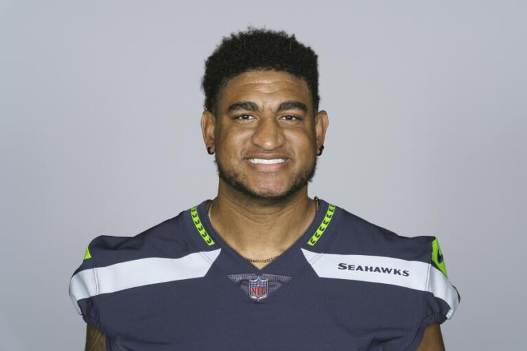 Kyle Fuller of the Seattle Seahawks, 2021 season.