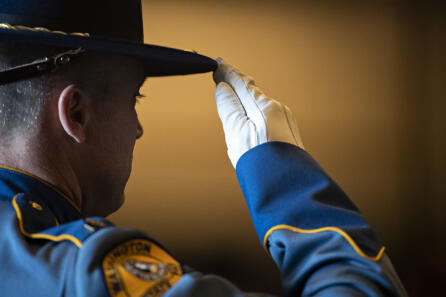 Funeral for Clark County Sgt. Jeremy Brown photo gallery