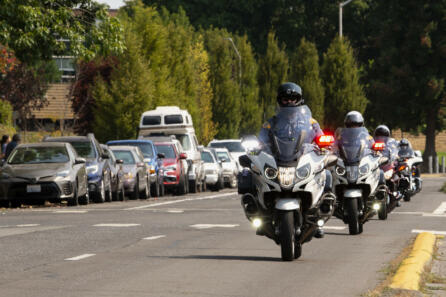 Funeral procession for slain Clark County Sheriff detective photo gallery