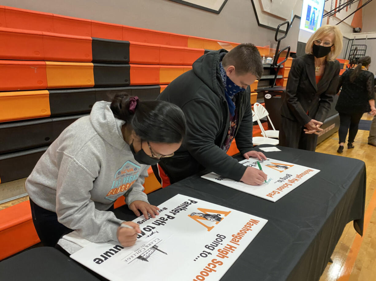 WASHOUGAL: The Panthers Rising event celebrated graduating seniors at Washougal High School.