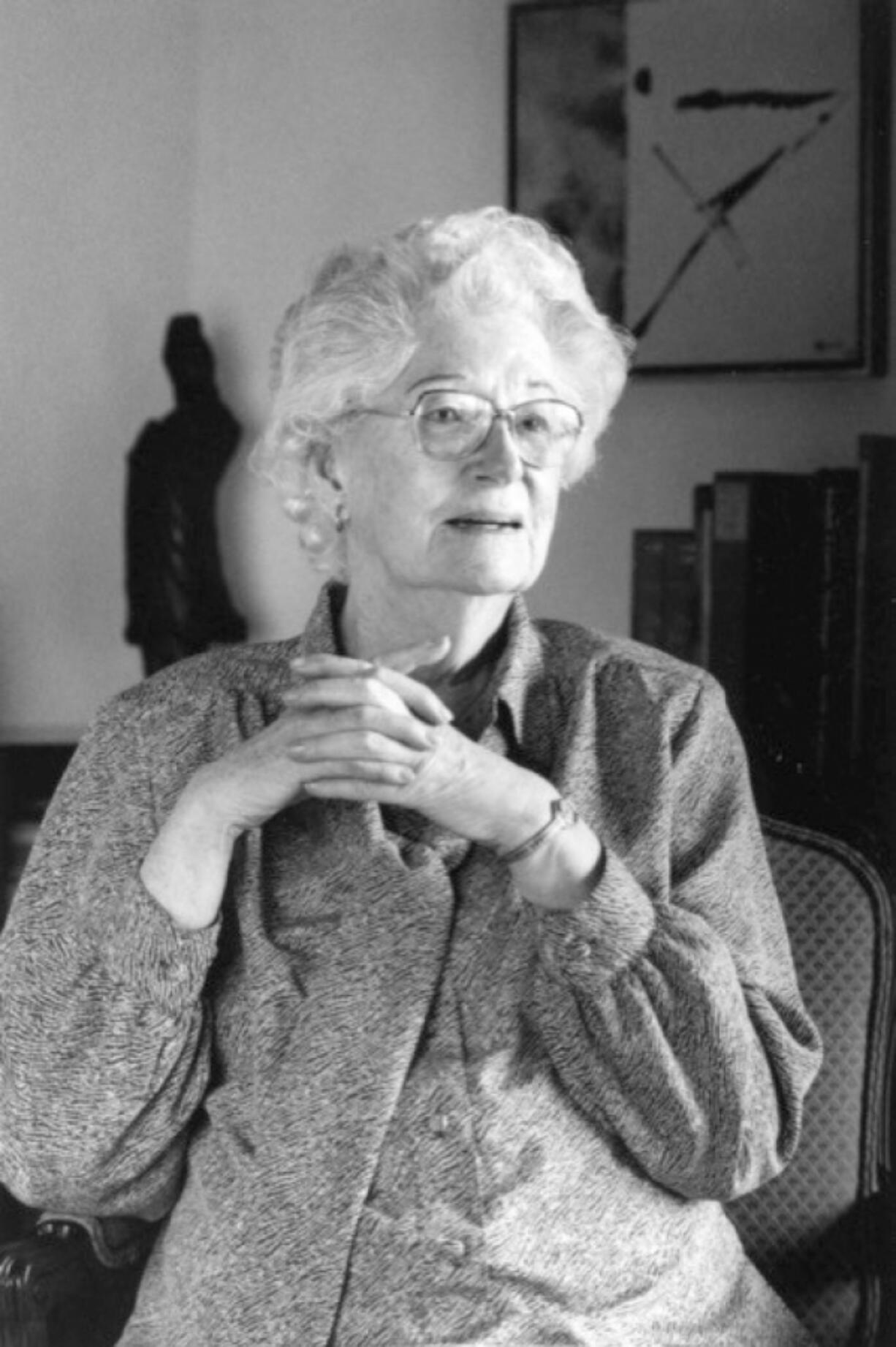 Born in Vancouver, Mary Barnard fled to New York City after graduating from Reed College in Portland. Although she struggled to write and work, she spent time among some of the most notable poets of 20th century. William Carlos William even made a pass at her, which she deflected. Later they became good friends. (Contributed by Special Collections and Archives, Eric V.