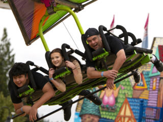 Carnival opens at Clark County Fairgrounds