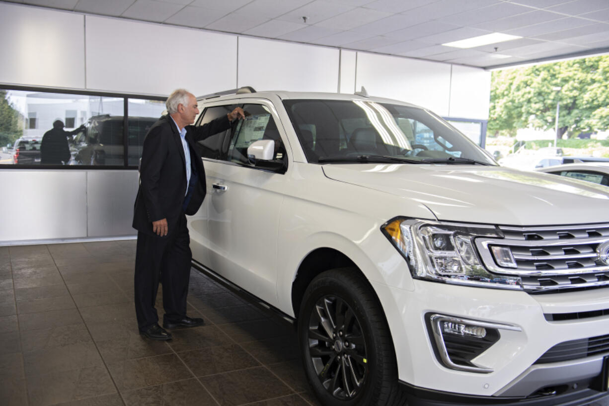 Jon Creedon's stock of new cars at Vancouver Ford is nearly gone, and it's mostly due to a global shortage of computer chips that new Ford cars need to be delivered to dealerships. It's affected about every car seller in Clark County to some extent.