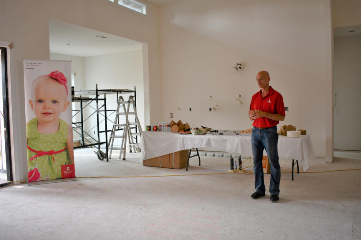 """FELIDA: A """"floor signing"""" was held Aug. 5 at the St. Jude Dream Home Showplace at 11506 N.W. 41st Court."""