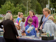 Representatives from local organizations were on-hand Aug. 21 to provide information about free resources to families at Woodland Public Schools' Back-to-School Bash.