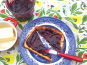 Hot buttered toast is merely a sophisticated jam delivery system.