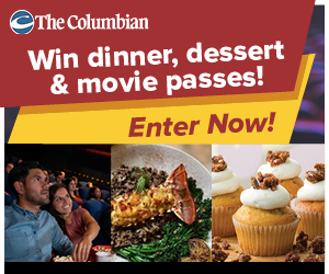 Dinner & A Movie Sweepstakes contest promotional image