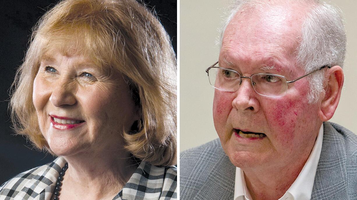 Anne McEnerny-Ogle and Earl Bowerman