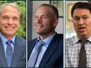 From left: Battle Ground schools superintendent Denny Waters; Vancouver Public Schools incoming superintendent Jeff Snell and Evergreen Public Schools superintendent Mike Merlino (File photos)
