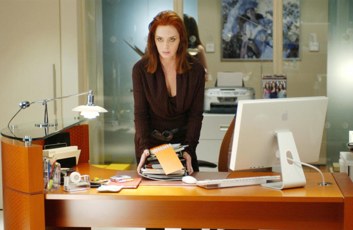"Emily Blunt in ""The Devil Wears Prada."" (20th Century Fox/Album/Zuma Press/TNS)"