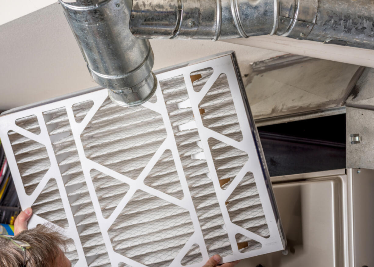 Keeping filters up to date is a vital part of HVAC maintenance.