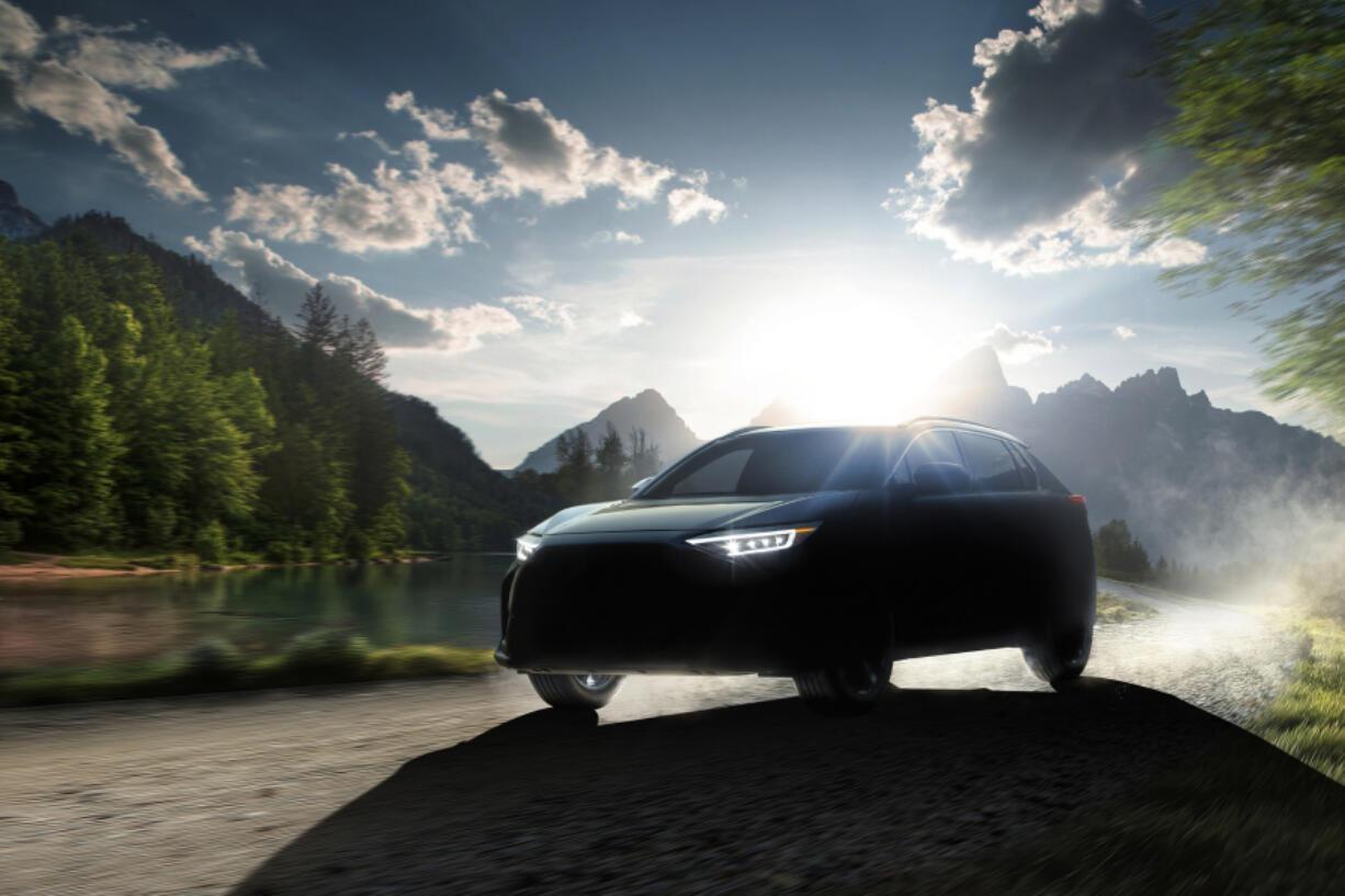 The Subaru Solterra.