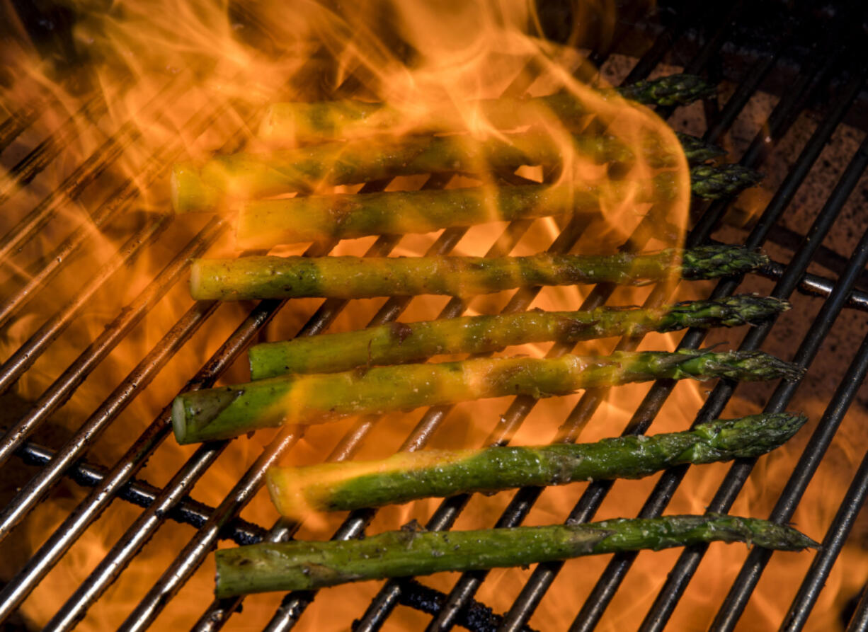 Grilled Asparagus With Olive Oil and Parmesan (Colter Peterson/St.