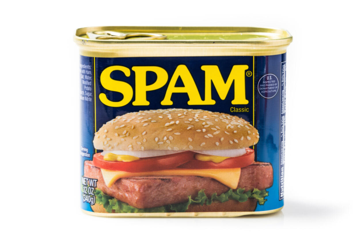 In World War II, some soldiers used Spam to lubricate their guns or waterproof their boots.