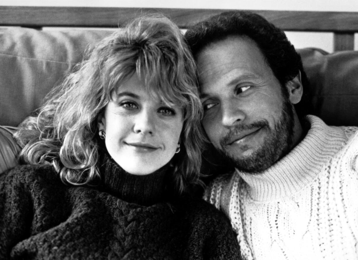 "Meg Ryan, left, and Billy Crystal in ''When Harry Met Sally."" (Bertil Unger/DPA/ZUMAPRESS.com)"