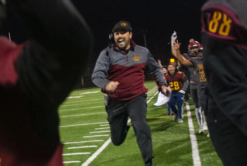 Prairie?s head coach Mike Peck is just happy to get to Friday and still be able to play a football game. If the pandemic has taught coaches and athletes anything, it is to be flexible. (The Columbian files)