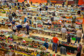 The Southwest Washington Model Railroaders host the 47th Great Train Swap Meet on Saturday in the Battle Ground High School gym. The swap meet returned after being canceled last year due to COVID-19. (Randy L.