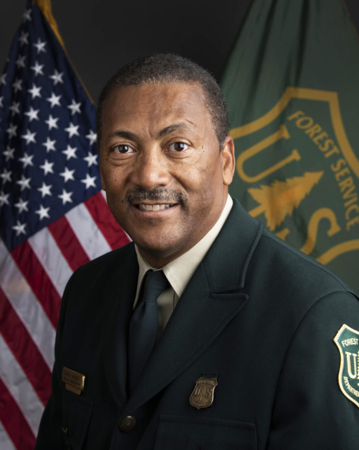 United States Department of Agriculture Forest Service Chief Randy Moore on August 25, 2021.