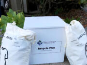 Waste Connections' new RecyclePlus service collects items that can't go in the blue bins.