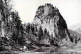 Beacon Rock, pictured here in 1901, was also known as Castle Rock.