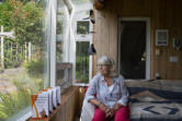 Julia Anderson, seen at her home east of Woodland, has spent her retirement writing and speaking to convince women to become more confident investors.