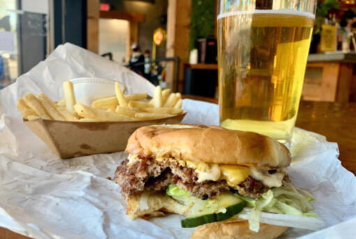 Goon Burger is a pop-up shop at Hungry Sasquatch on Tuesdays. (Photos by Rachel Pinsky)