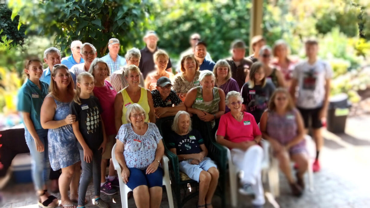 A recent multigeneration family reunion celebrated Vancouver's historical Yinger Dairy and its family. The reunion was held at a cousin's home in Oregon City, Ore. The dairy started in 1900.