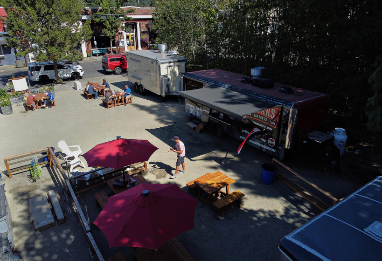 A new food cart pod called Carts by the Park is being created in downtown Ridgefield.