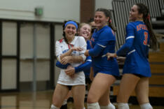 Ridgefield volleyball sweeps Columbia River sports photo gallery