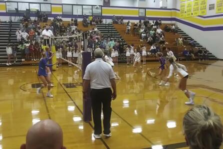 Highlights: Ridgefield vs. Columbia River volleyball video