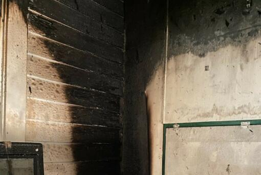 A fire burned the interior of a house Wednesday morning at 2101 Norris Road. Two children ran to the fire station across the street to alert crews their house was on fire.