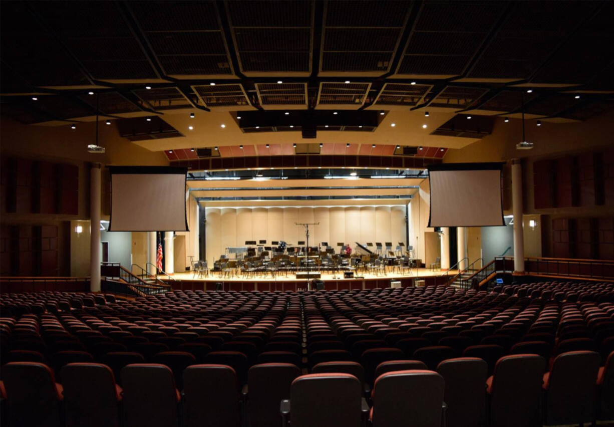 The 1,500-seat, acoustically impressive concert hall at Skyview High School has been the home of the Vancouver Symphony Orchestra for years. Due to COVID-19, the school district is not renting indoor facilities to outside groups. This underscores the pre-pandemic problem of a lack of performing-arts space in Clark County.