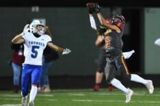 Mountain View vs. Prairie football, Oct. 15 sports photo gallery