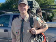 Camas teen Alex Kamlin is raising money to build a mobile produce washing station for the 78th Street Heritage Farm, as part of his Eagle Scout project.