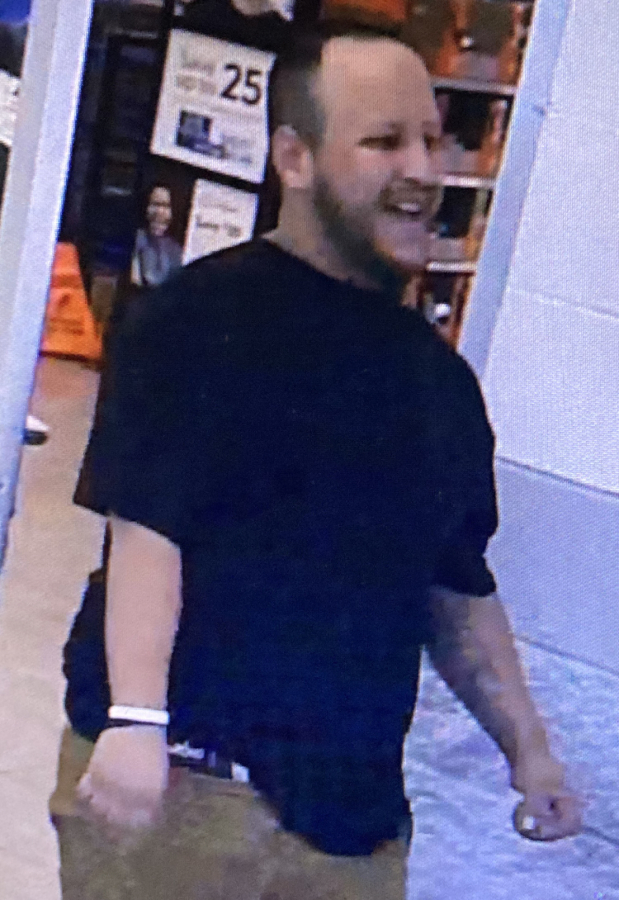 The man suspected in an attempted robbery Tuesday afternoon at the Hazel Dell Walmart. The Clark County Sheriff's Office is asking for the public's help in identifying him.