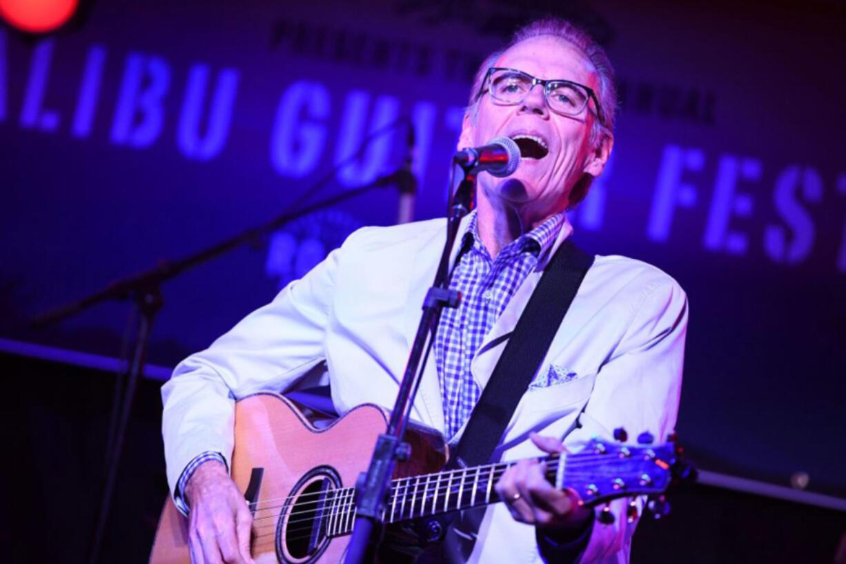 John Hiatt performs at the Malibu Guitar Festival opening night benefit concert May 18, 2017, in Malibu, Calif.