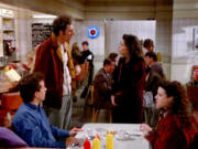 The ???Seinfeld??? gang at its favorite diner.