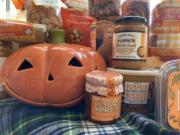 An assortment of pumpkin-flavored foods from Trader Joe's.